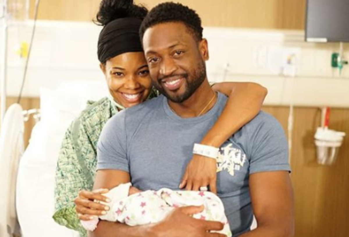 Gabrielle Union, Dwyane Welcome New Daughter Via Surrogate