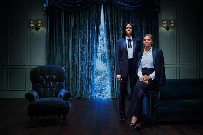 Naomi Campbell And Her Ageless Mother Valerie Model For Burberry