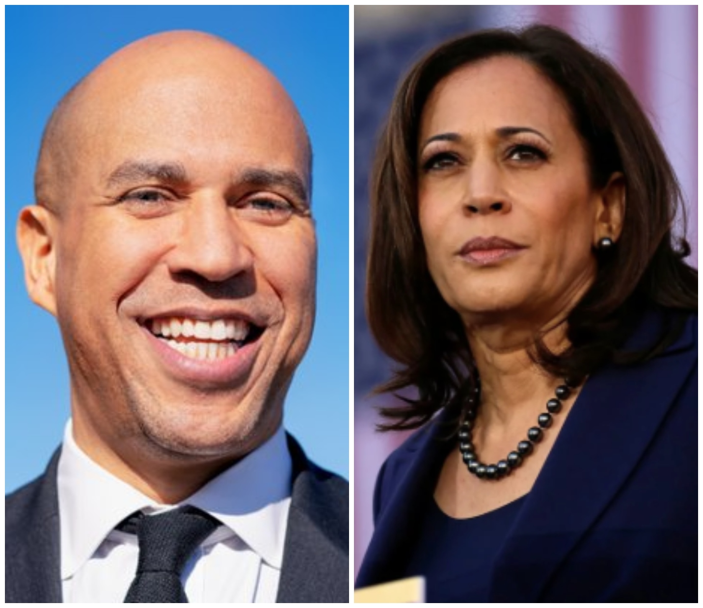 Corey Booker and Kamala Harris Are Running For President